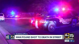 Man found shot and killed in Guadalupe - Video