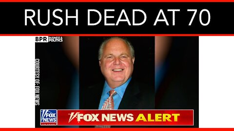 Conservative Legend Rush Limbaugh Dies At 70