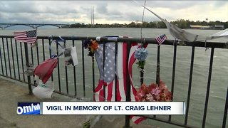 Vigil marks one year since the recovery of Lt. Lehner - Video