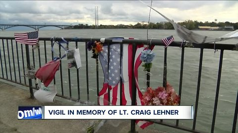 Vigil marks one year since the recovery of Lt. Lehner