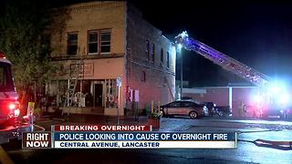 Fire forces four people out of Lancaster apartment - Video