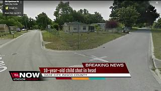 10-year-old shot in head in Dade City - Video
