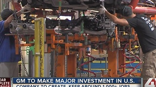 General Motors to invest $1 billion, add 1,000 jobs in U.S., sources say - Video