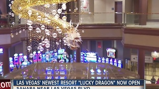 Lucky Dragon opens to public this weekend