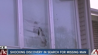 Shocking discovery in search for missing man - Video