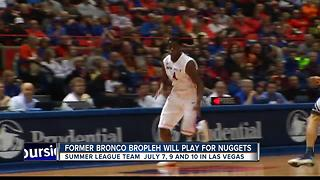 Former Bronco Bropleh to play for Denver Nuggets - Video