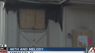 KCK woman killed in overnight house fire - Video