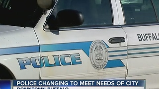 Buffalo Police adapting to growing downtown - Video