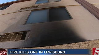 1 Killed In Lewisburg Apartment Fire