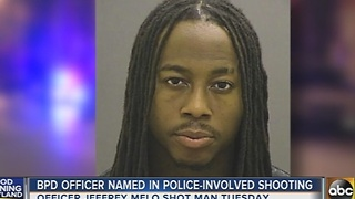 Baltimore police officer named in police-involved shooting