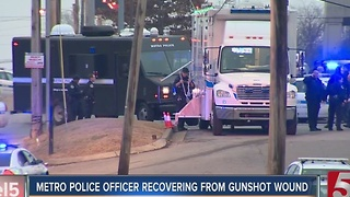 Police Identify Suspect Who Shot Metro Officer - Video