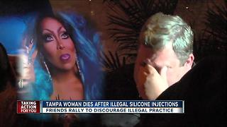 Tampa woman dies days after getting illegal silicone injections - Video