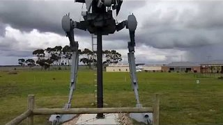 Check out This Awesome Star Wars AT-ST Walker Replica - Video
