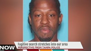 Fugitive search stretches into Tampa Bay area - Video