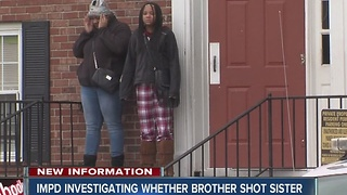 Police investigating possibility that girl was shot by her 3-year-old brother - Video