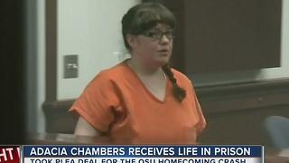 Adacia Chambers sentenced to life in prison - Video