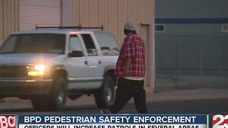 Pedestrian safety concerns in Bakersfield - Video