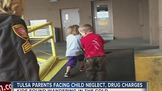 Tulsa Parents Facing Child Neglect, Drug Charges - Video