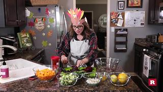 How to make an Autumn salad with Elissa the Mom | Rare Life - Video