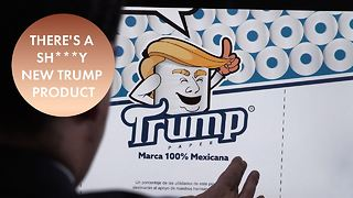 Trump is going down the toilet... Literally. - Video