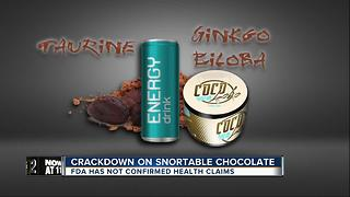 New warning for parents about 'snortable chocolate' - Video