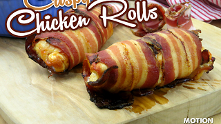 How to make crispy chicken rolls - Video