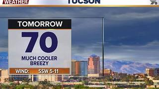 Chief Meteorologist Erin Christiansen's KGUN 9 Forecast Wednesday, November 16, 2016