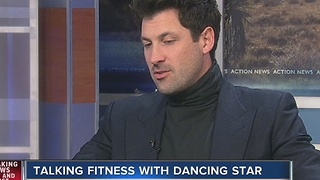 Mak's talks Dancing with the Stars and Health and Fitness - Video