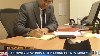 Embattled Las Vegas valley attorney fights back - Video