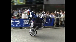 Extreme Motorbike Stunts - Video