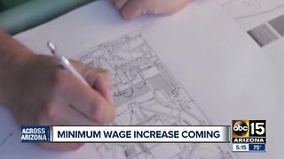 Arizona minimum wage to increase Jan. 1 - Video