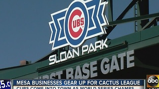 Cub fans, did you get your spring training tickets?
