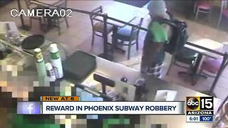 Man robs Subway in Phoenix, no arrests made - Video