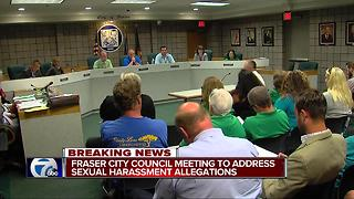 Fraser city council meeting to address sexual harassment allegations - Video
