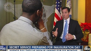 Secret Service prepares for inauguration day - Video