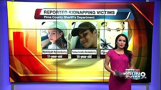 PCSD: Three siblings kidnapped in Marana by Mother - Video