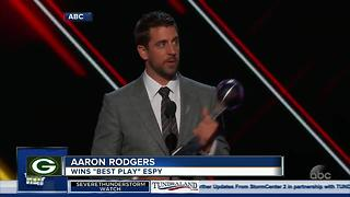 Several Packers players take home three ESPY awards - Video