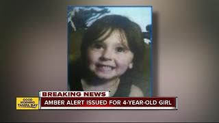 AMBER Alert issued for 4-year-old Florida girl