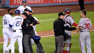 Fight Nearly Breaks Out Between Yasiel Puig & Koda Glover After Game-Ending Strikeout - Video