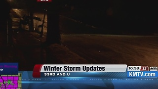 Winter Storm updates - Video