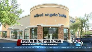 Customers react to bridal store's sudden closure - Video