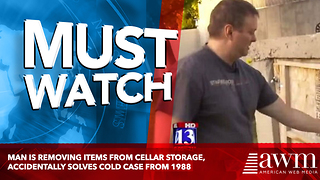 Man Is Removing Items From Cellar Storage, Accidentally Solves Cold Case From 1988 - Video
