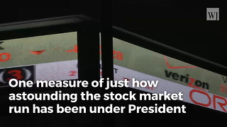 All 55 Of These Stocks Have Doubled In Value Since Trump's Election - Video