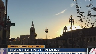 Plaza Lighting Ceremony - Video