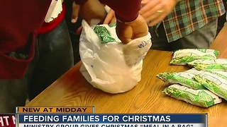 Ministry group feeding families for Christmas - Video