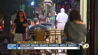 Concert brawl sparks worries about safety - Video