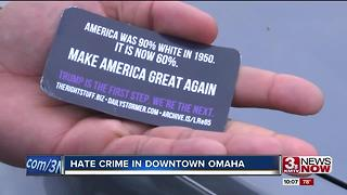 Navy Veteran victim of hate crime in downtown Omaha - Video