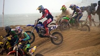Riders Brave Bad Weather to Compete in the Red Bull Knock Out - Video