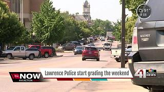 Lawrence police starts grading itself - Video