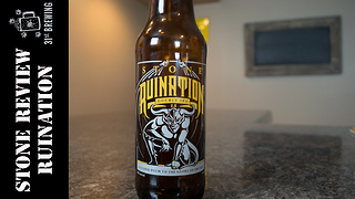 Stone Ruination 2016 beer review